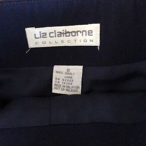 Liz Claiborne Skirts - Liz Claiborne Wool Wrap Pencil Skirt